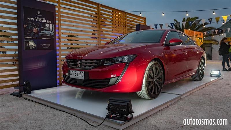 Peugeot 508 2019 - Lanzamiento en Chile
