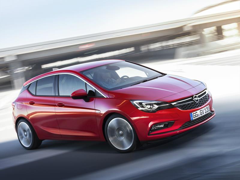 Opel Astra en Frankfurt