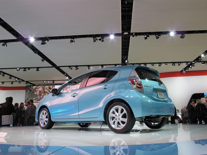 Toyota Prius C 2013 en el Salón de Detroit