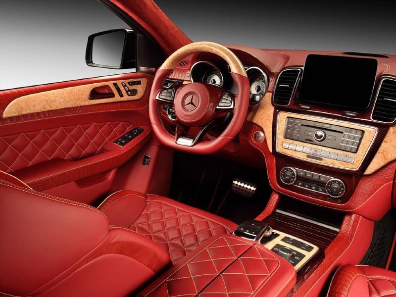 Interior del Mercedes Benz GLE Coupé Inferno
