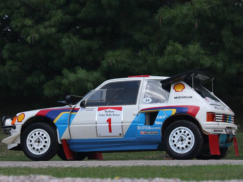 Top Ten: Peugeot 205 Turbo 16