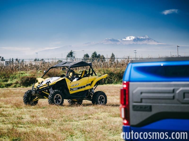 Ford Lobo Raptor 2017 y Yamaha YXZ 1000 R