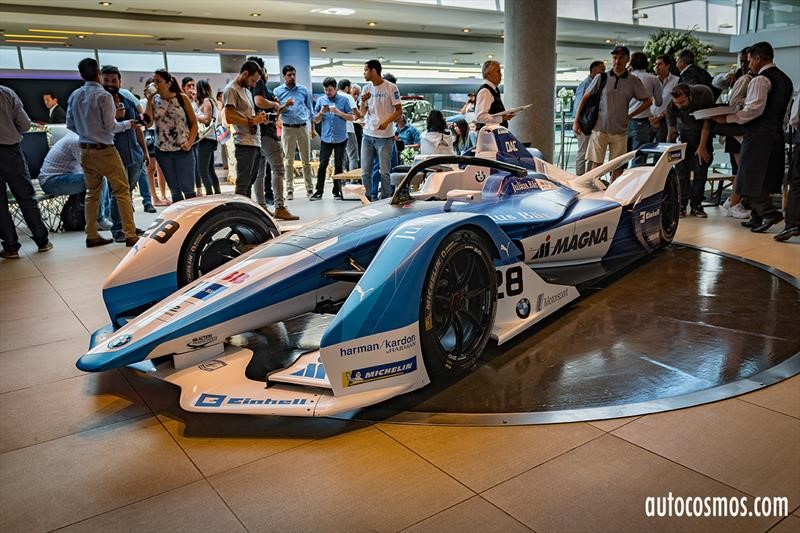 Formula E en Chile: BMW i Andretti Motorsport
