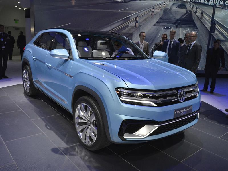VW Cross Coupe GTE concept