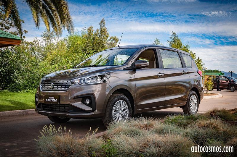 Suzuki Ertiga 2019 - Lanzamiento en Chile
