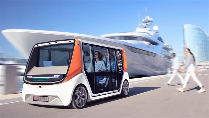 CES 2020: Rinspeed MetroSnap