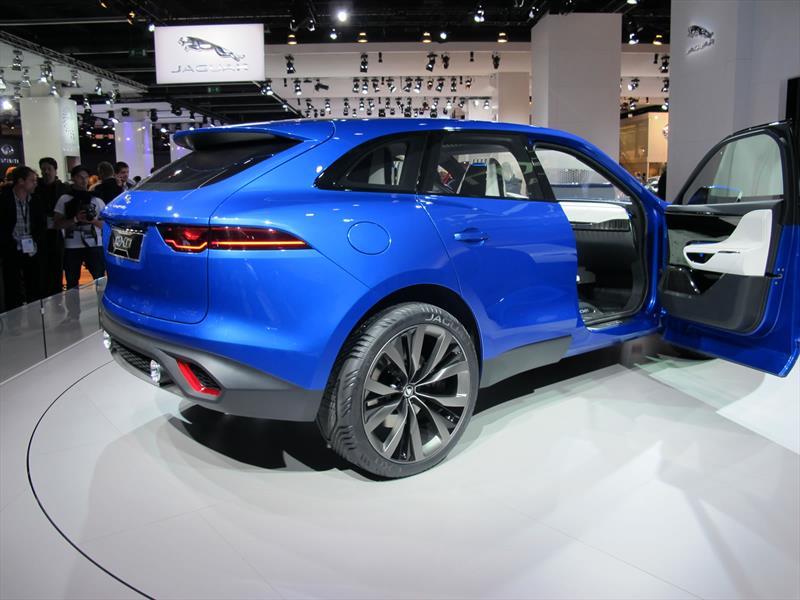 Jaguar C-X17 Crossover Concept