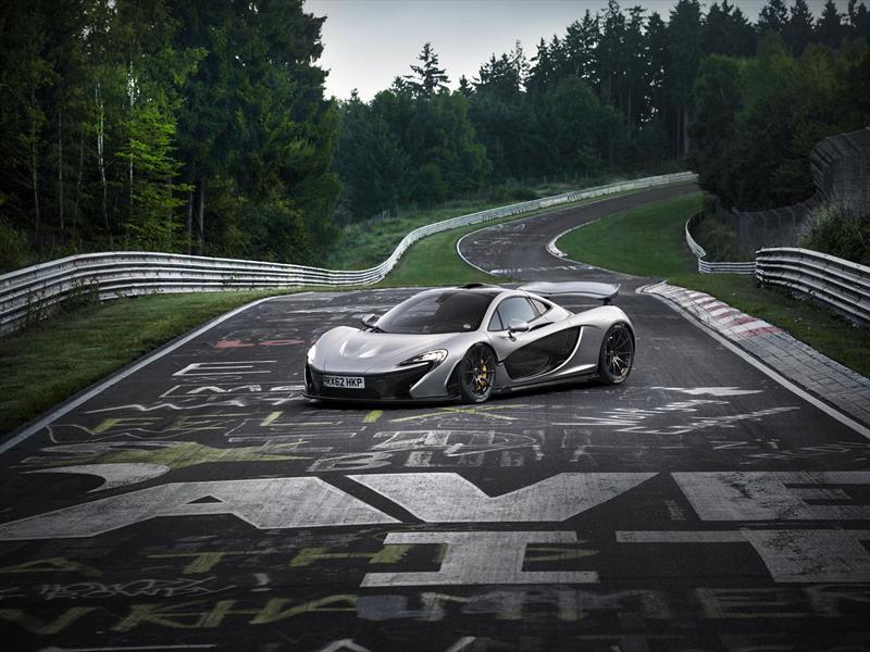McLaren P1 baja los 7 segundos en Nürburgring