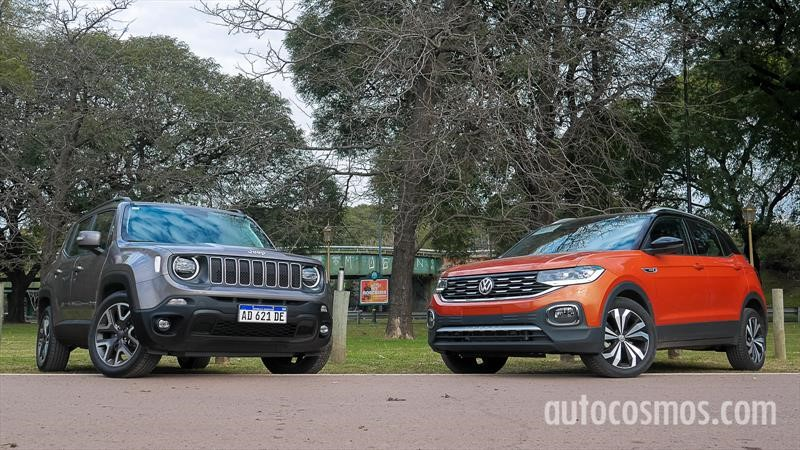 Jeep Renegade vs. VW T-Cross