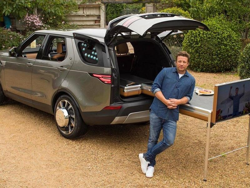 Land Rover Discovery - Jamie Oliver