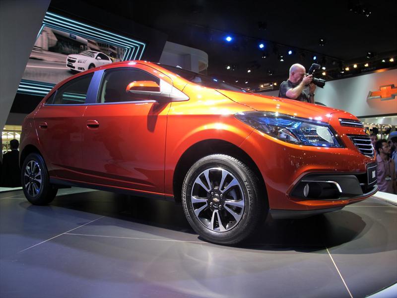 Chevrolet Onix debuta en el Salón de San Pablo
