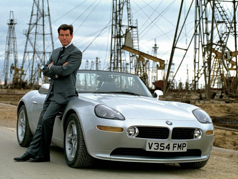 Top 10: BMW Z8 de Bond