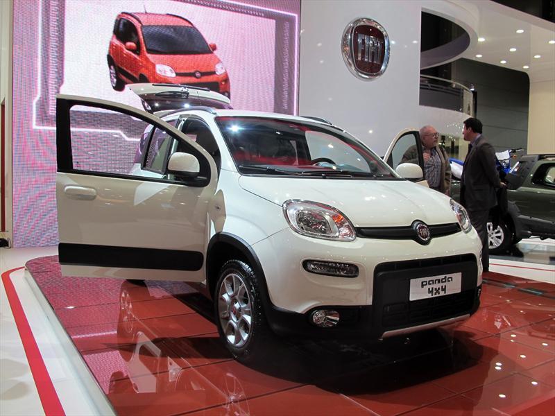 FIAT Panda 4x4 en el Salón de BA 2013