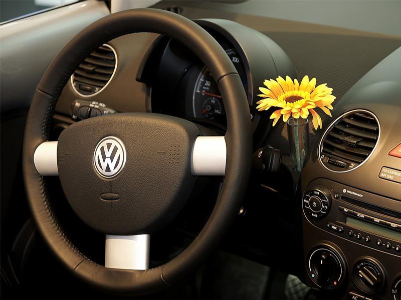 Florero de Volkswagen Beetle