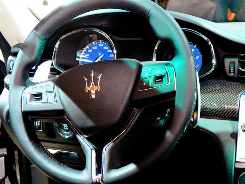 Maserati Quattroporte en Detroit 2013