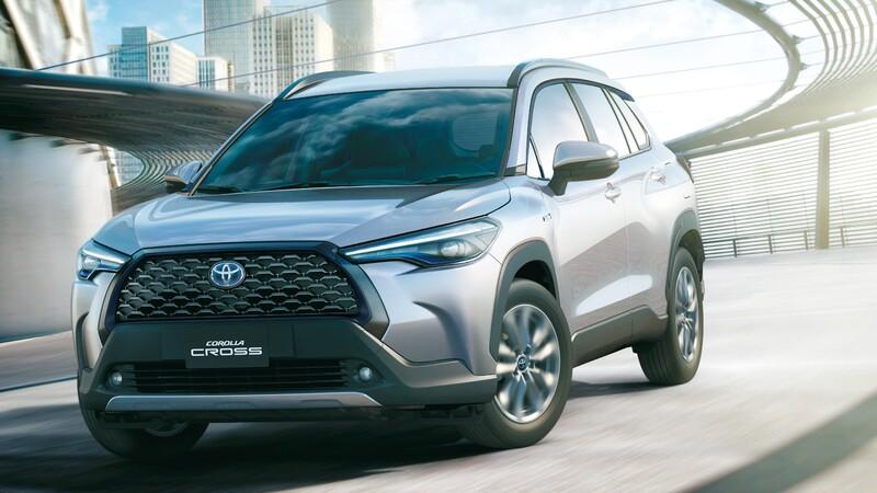 Lanzamiento Toyota Corolla Cross 2021