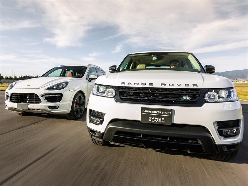 Range Rover Sport vs Porsche Cayenne Turbo S