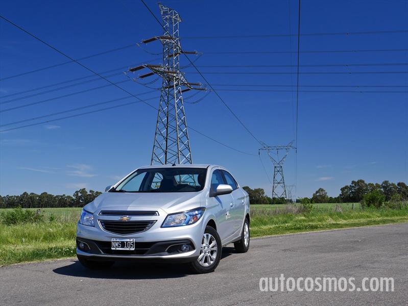 Chevrolet Prisma Automático a prueba