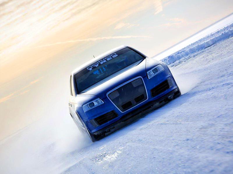 Audi RS6 Récord mundial de velocidad en nieve