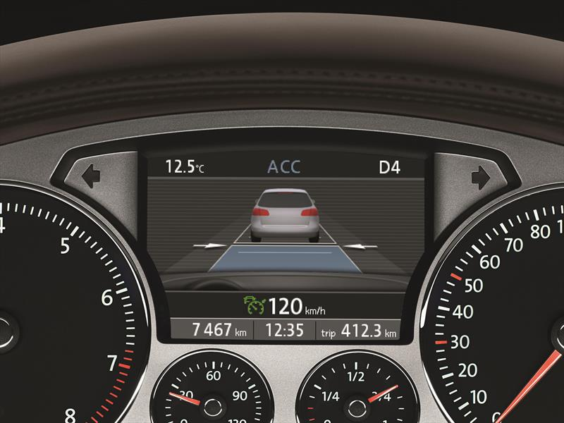Asistencias de seguridad de Volkswagen