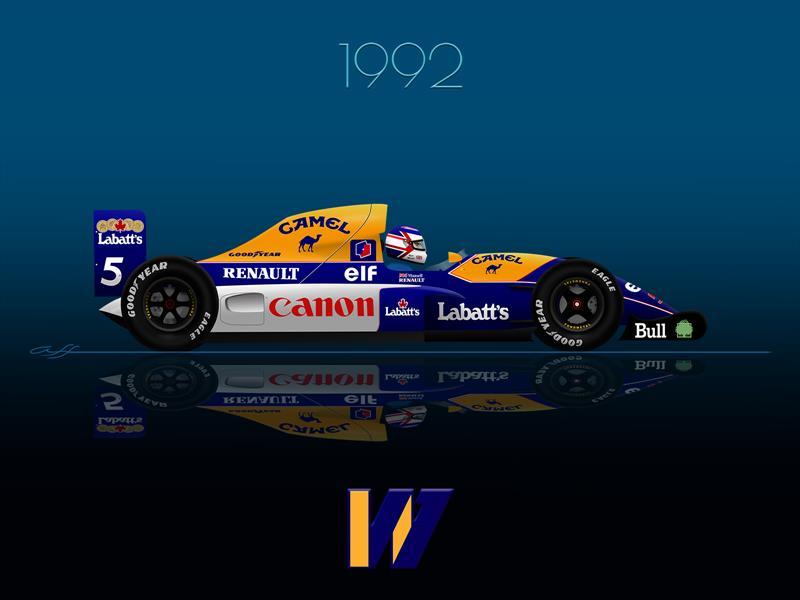 Ganadores GP F1 México 1992