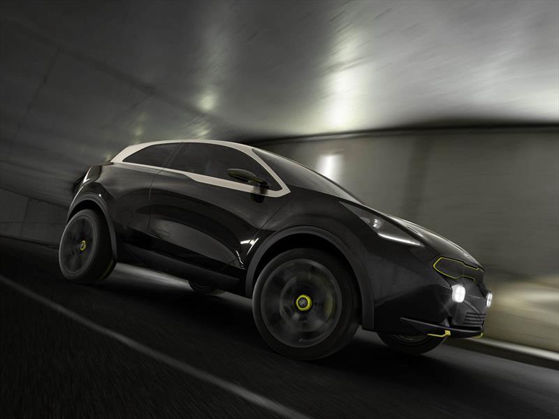 Kia Niro Concept listo para la jungla de cemento