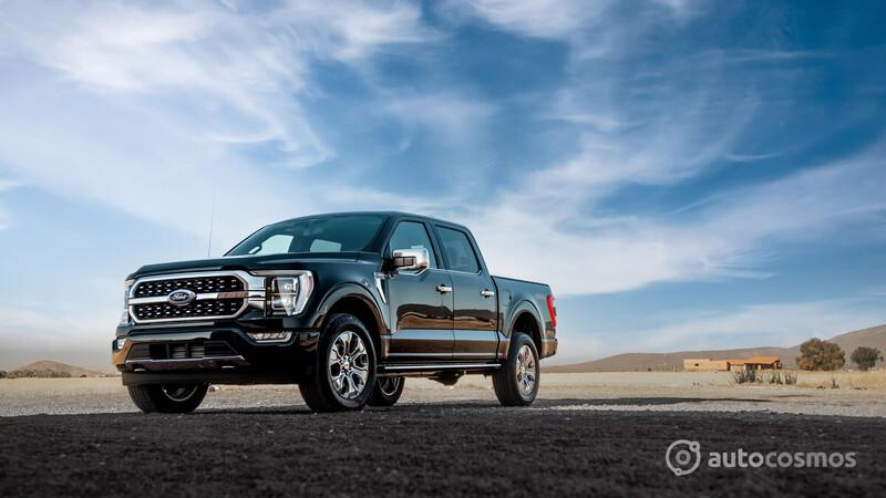 Ford Lobo 2021 a prueba