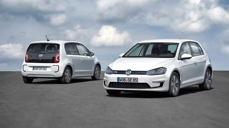 Volkswagen e-Golf con e-up!