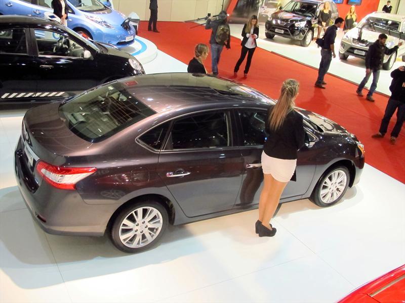 Nissan Juke, Sentra, Pathfinder y Leaf en BA 2013