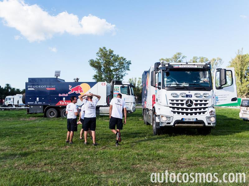 Dakar 2015: Bivouac Rosario