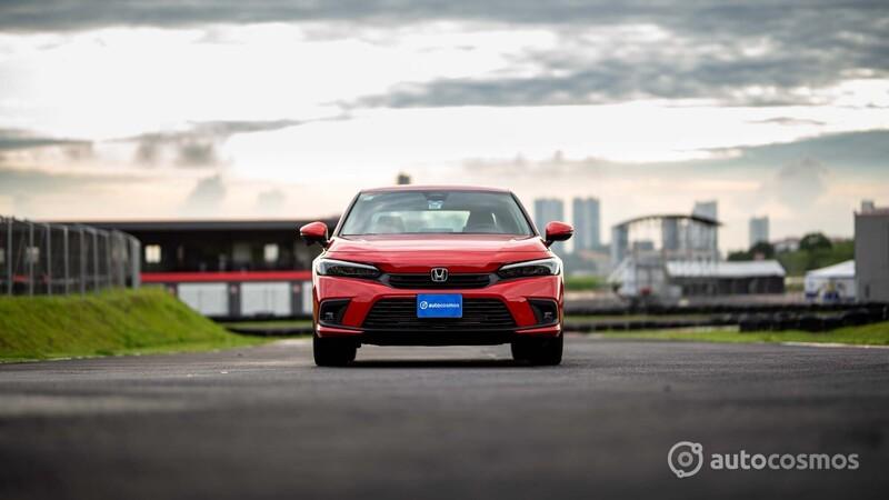 Honda Civic 2022 a prueba
