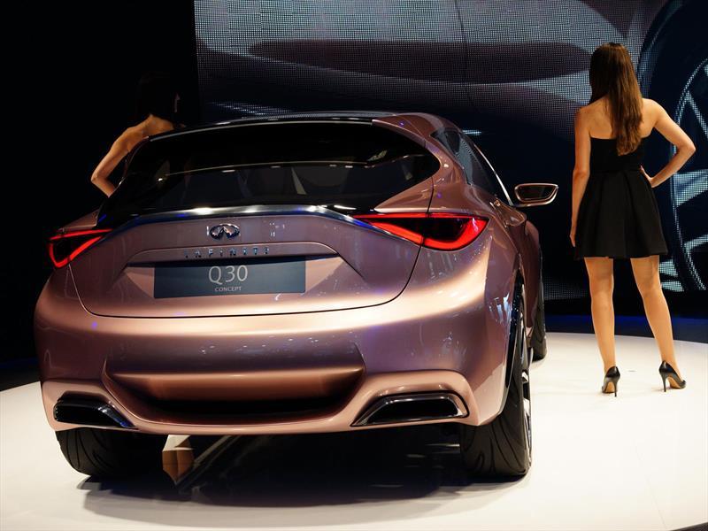 Infiniti presenta el Q30 Concept en Frankfurt