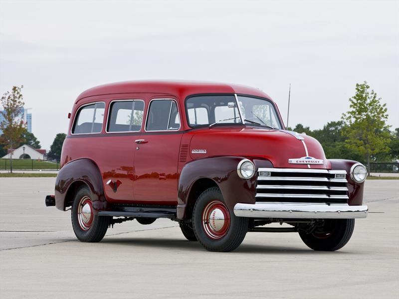 Chevrolet Suburban 4ª Generación 1947-1955