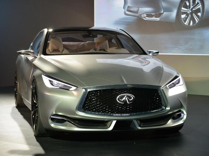 Infiniti Q60 Concept en Detroit 2015