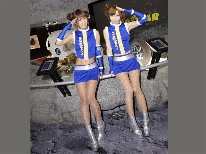 Las chicas del Salón de Tokio 2011