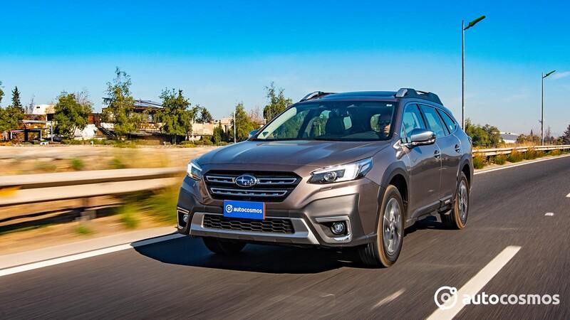 Subaru Outback Touring 2021 - Test Drive