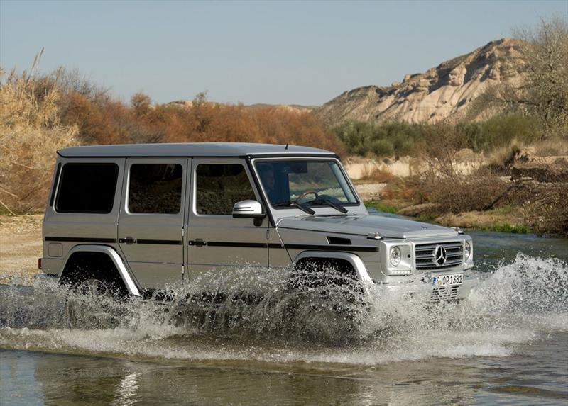 Mamá Protectora: Mercedes-Benz Clase G