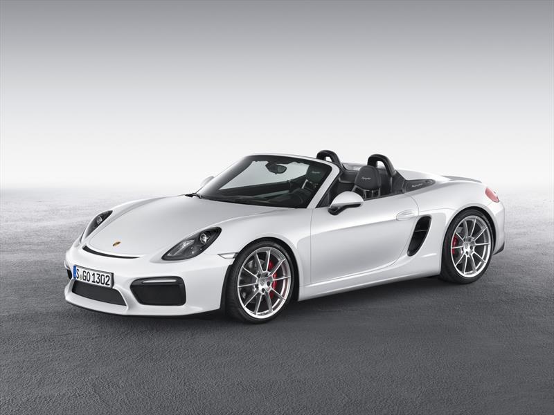 Nuevo Porsche Boxster Spyder en New York