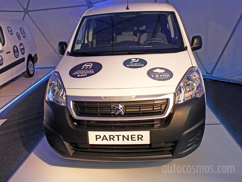 Peugeot Partner, Partner Maxi y Teppee 2016