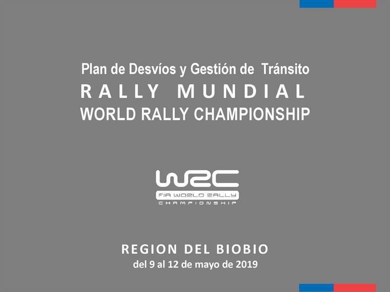 Desvíos y Gestión del Transito WRC en Chile