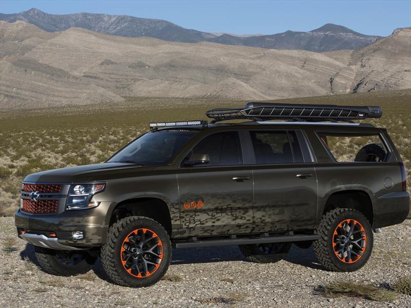 Chevrolet Luke Bryan Suburban Concept