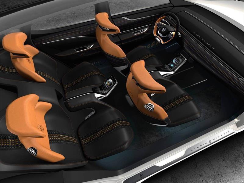 Pininfarina Hybrid Kinetic K350 SUV Concept