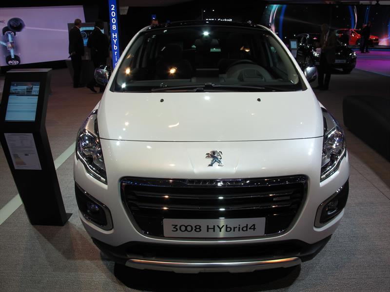 Peugeot 3008 se renueva para 2014