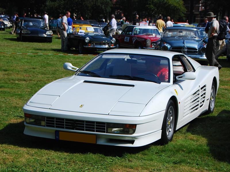 Top 10: Ferrari Testarossa