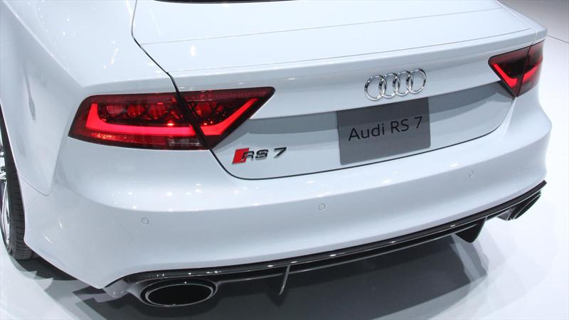 Audi RS7 en el Salón de Detroit 2013