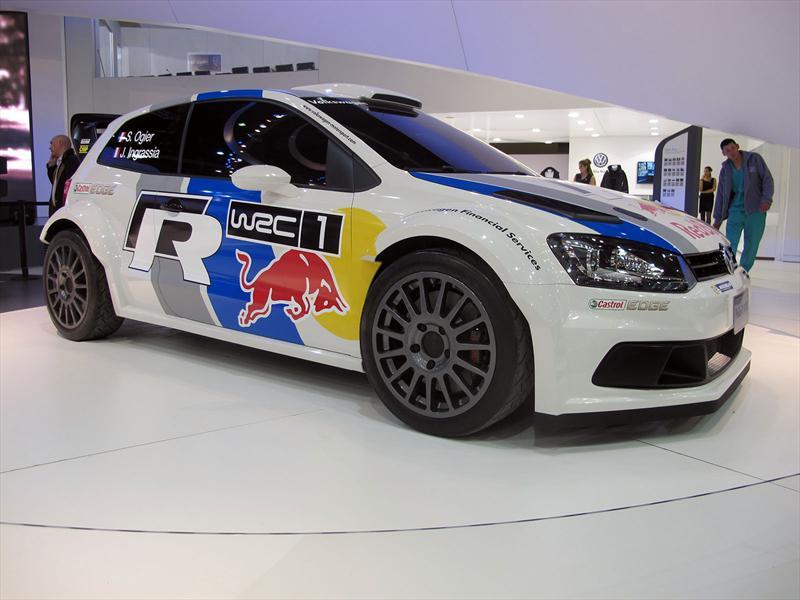 VW Polo WRC en el Salón de BA 2013