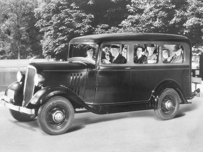Chevrolet Suburban 1ª Generación 1935-1936
