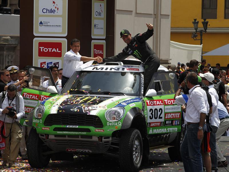 Dakar 2012, el podio