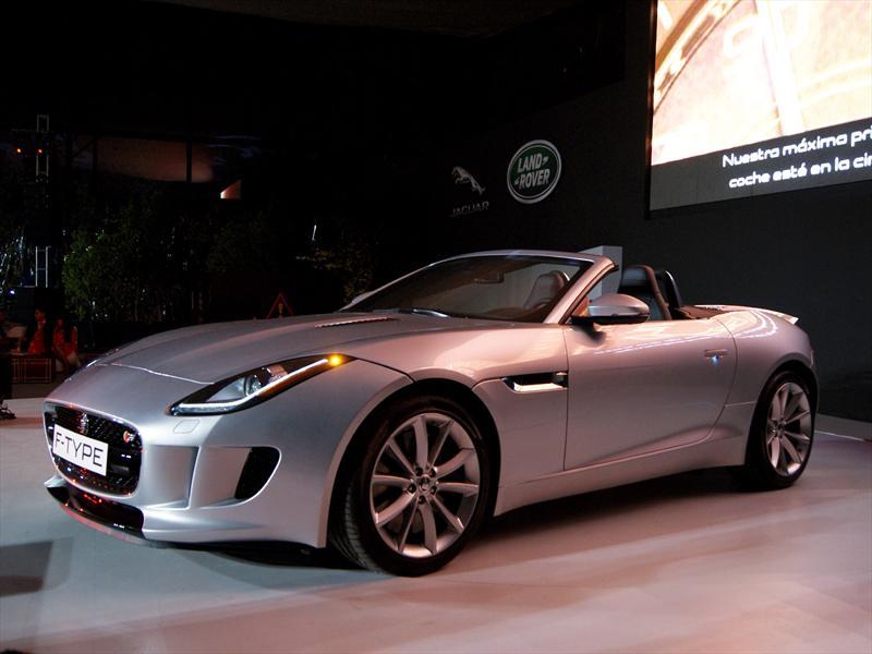 Presentación Jaguar F-Type 2014