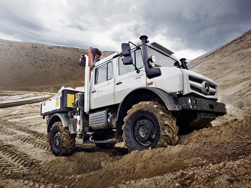 Nuevo Mercedes-Benz Unimog